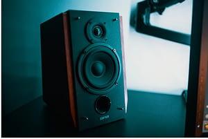 a stereo speaker